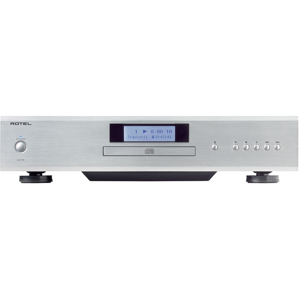 Hifi 24 Shop Rotel Cd Player Silver And Black
