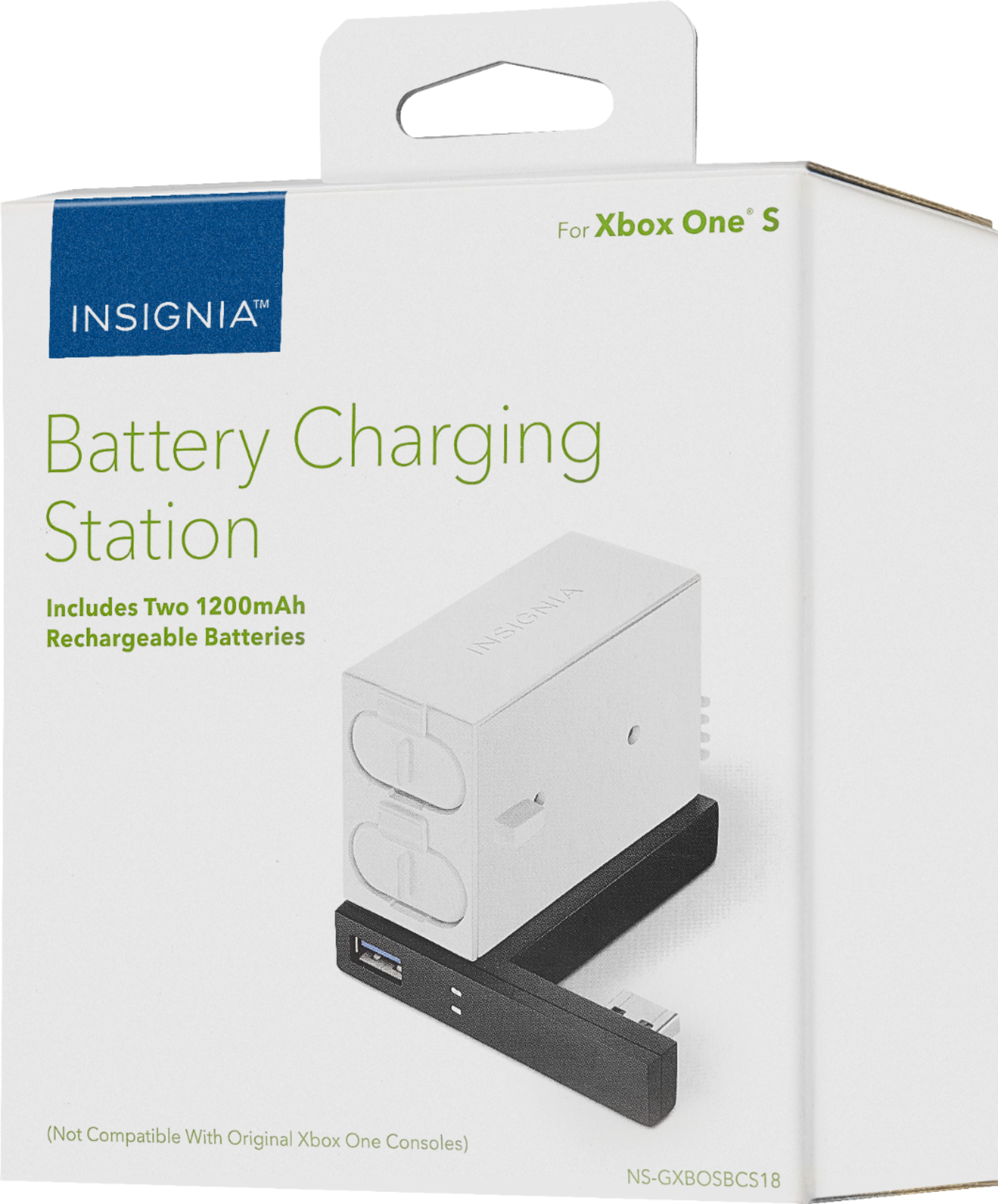 Stylish Charging Station Insignia Battery Charging Station For Xbox One S White