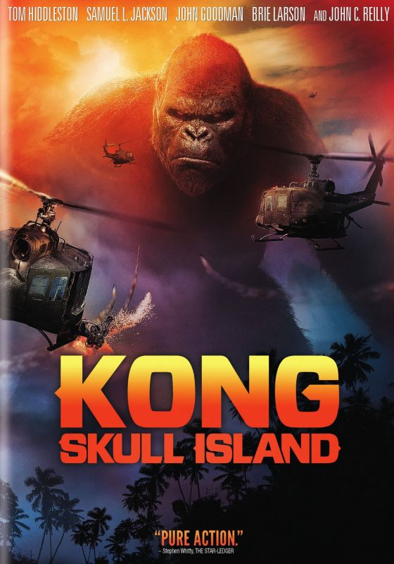 Wallpaper Skull 3d Kong Skull Island Dvd Enhanced Widescreen For 16x9 Tv