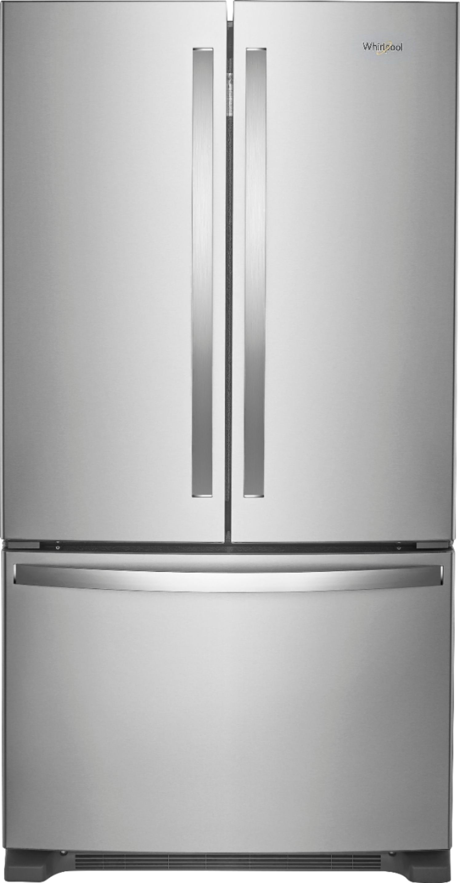 Whirlpool Appliances Canada Whirlpool 25 2 Cu Ft French Door Refrigerator With Internal Water Dispenser Stainless Steel