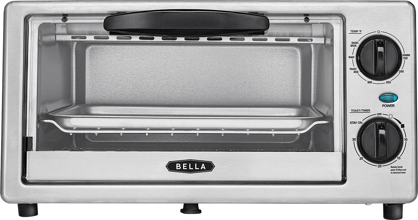 Are Whirlpool And Maytag The Same Bella 4-slice Toaster Oven Black/silver Bla14413 - Best Buy