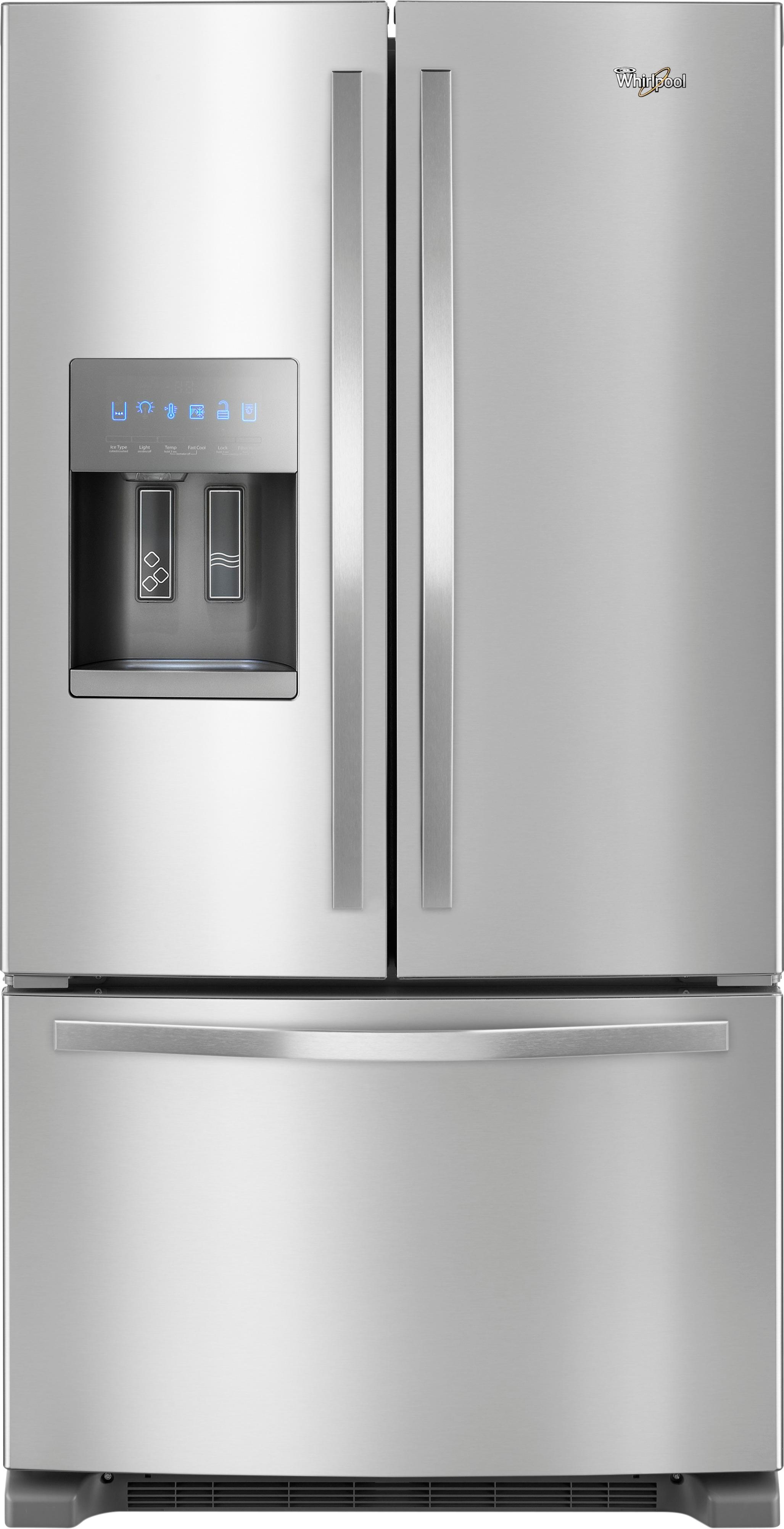 Whirlpool Appliances Canada Whirlpool 24 7 Cu Ft French Door Refrigerator Stainless Steel