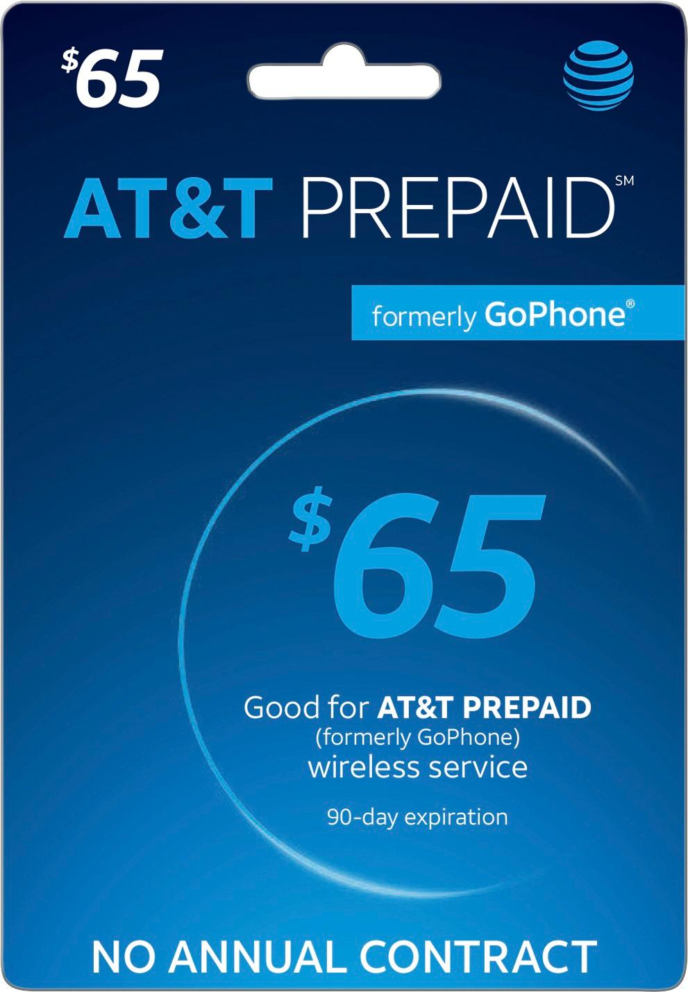 Go Business Mobile Plan $65 At T 65 Prepaid Phone Card