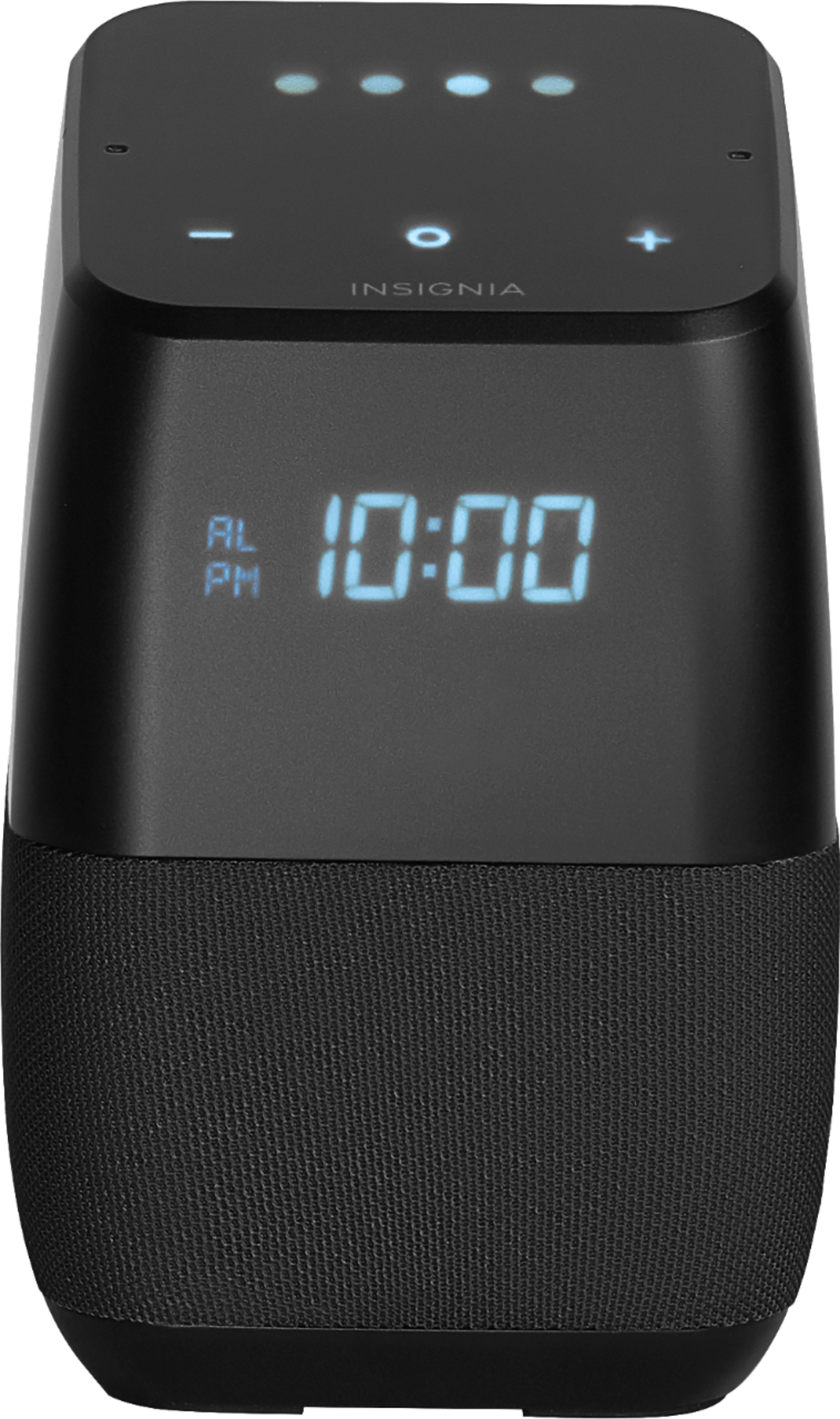 Buy Clock Insignia Voice Smart Bluetooth Speaker And Alarm Clock With Google Assistant Black