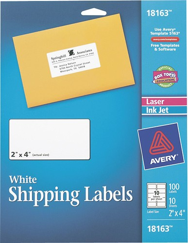 avery labels shipping - Selol-ink