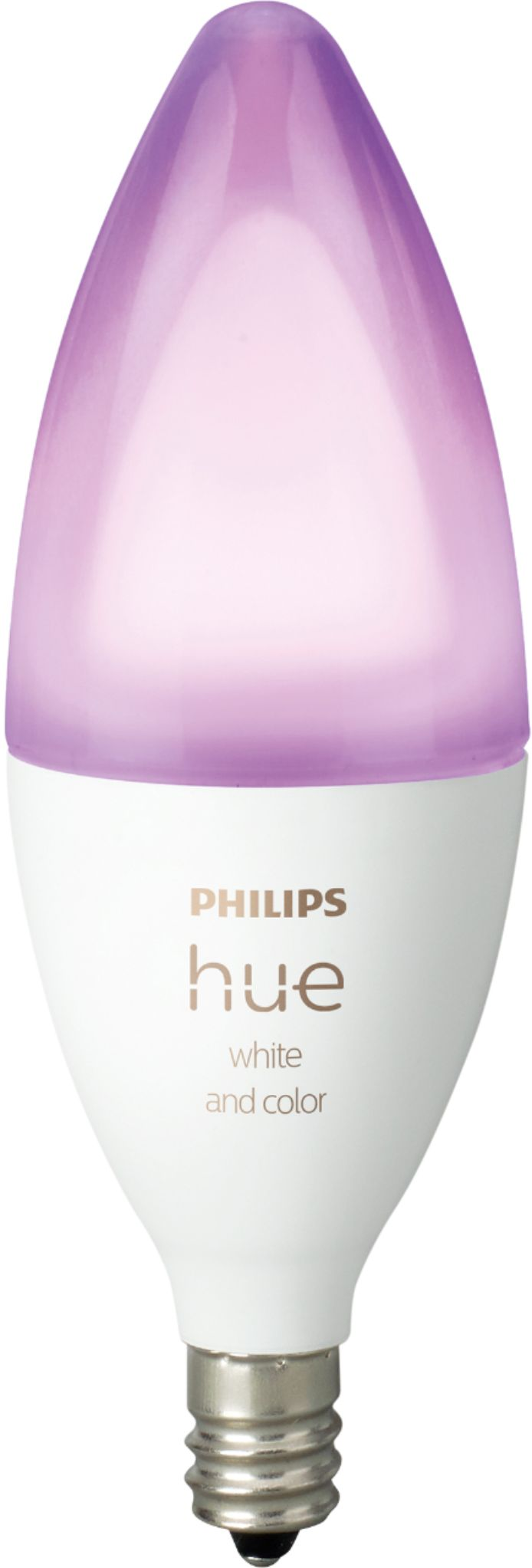 Eclairage Led Philips Philips Hue White And Color Ambiance E12 Wi Fi Smart Led Decorative Candle Bulb Multicolor