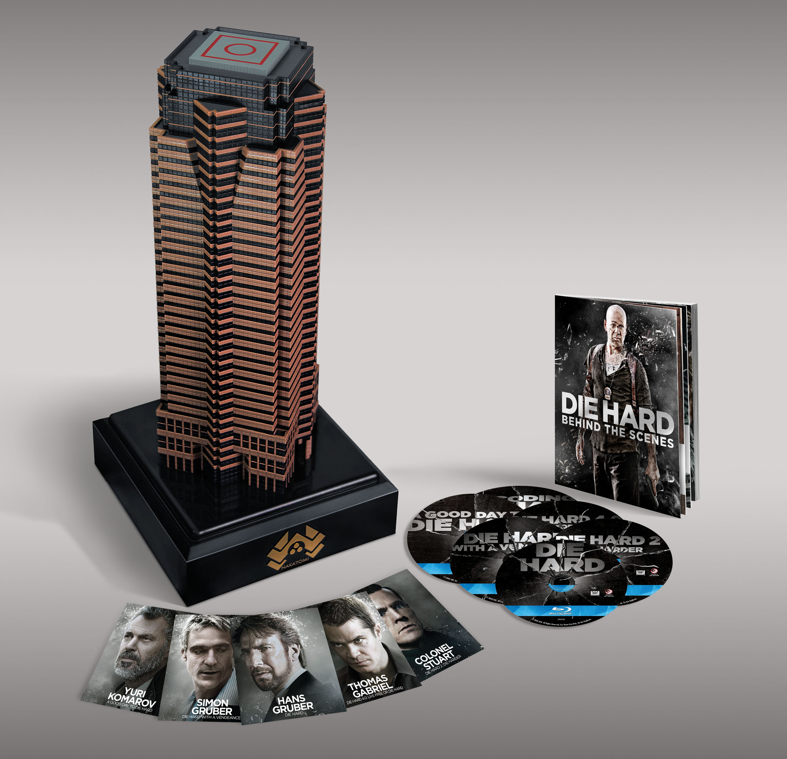 Die Collection Best Buy: The Complete Die Hard Collection [nakatomi Plaza ...