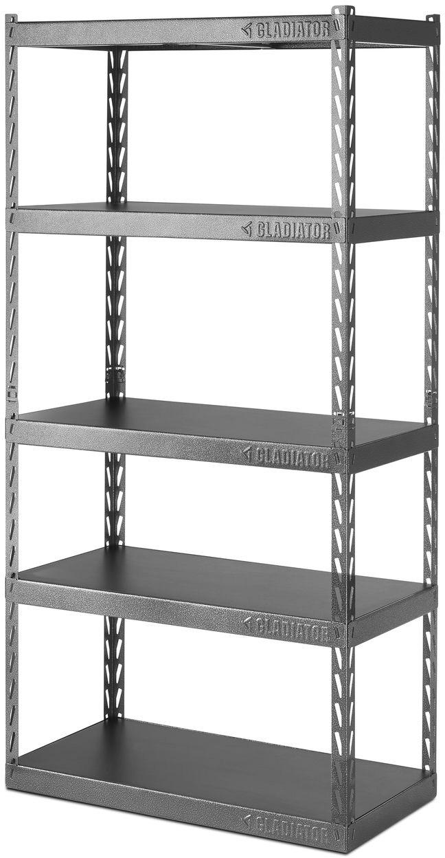 Metal Shelving Gladiator Ez Connect 36