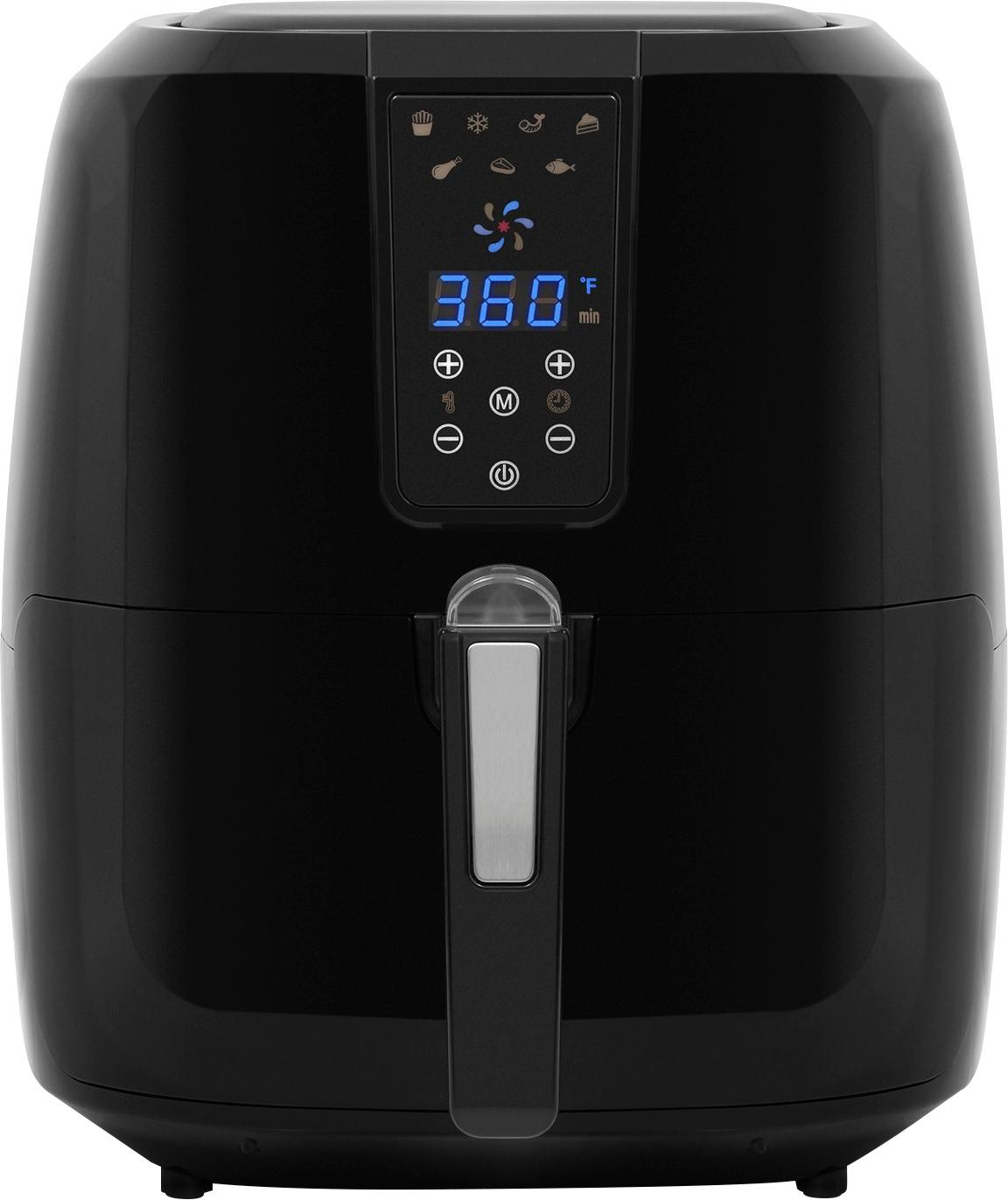 Cucina Kitchen Appliances Chef Di Cucina Nutri Airfry 5 5l Digital Air Fryer Black