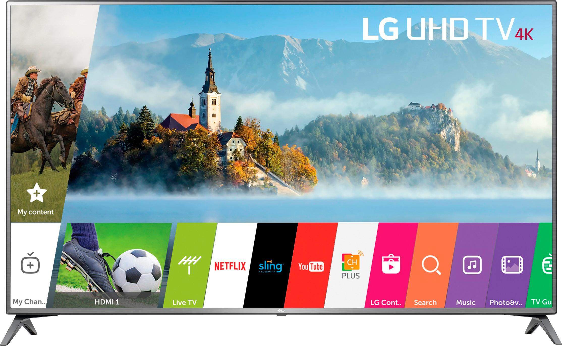 "Tv Uhd 4k Best Buy: Lg 70"" Class Led Uj6570 Series 2160p Smart 4k"