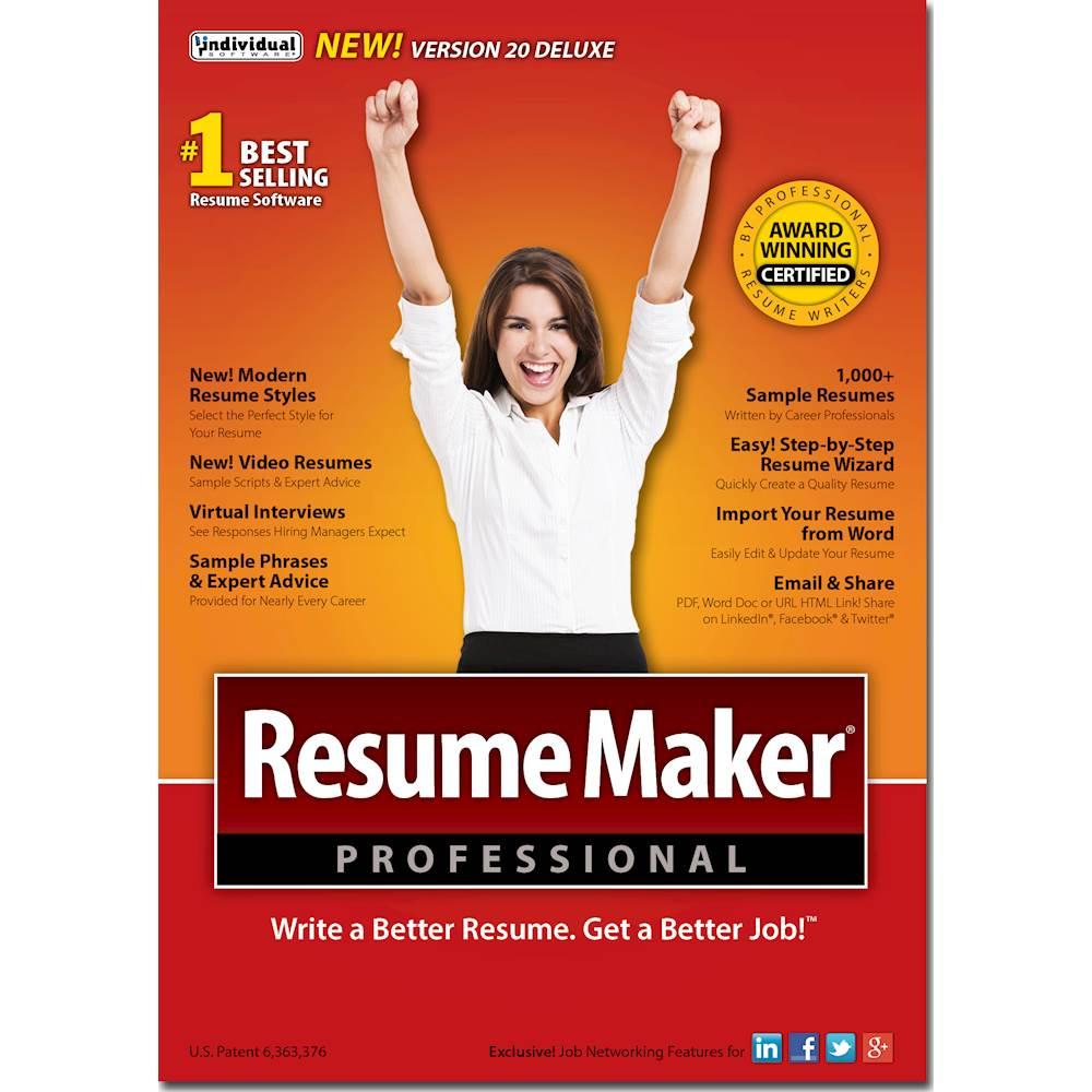resumemaker professional deluxe reviews