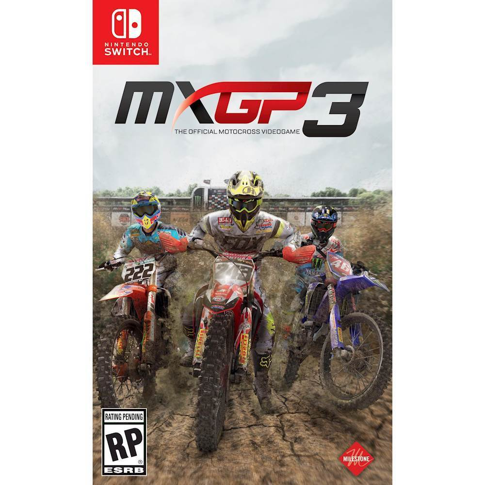 Motocross Garage Accessories Mxgp3 The Official Motocross Videogame Nintendo Switch
