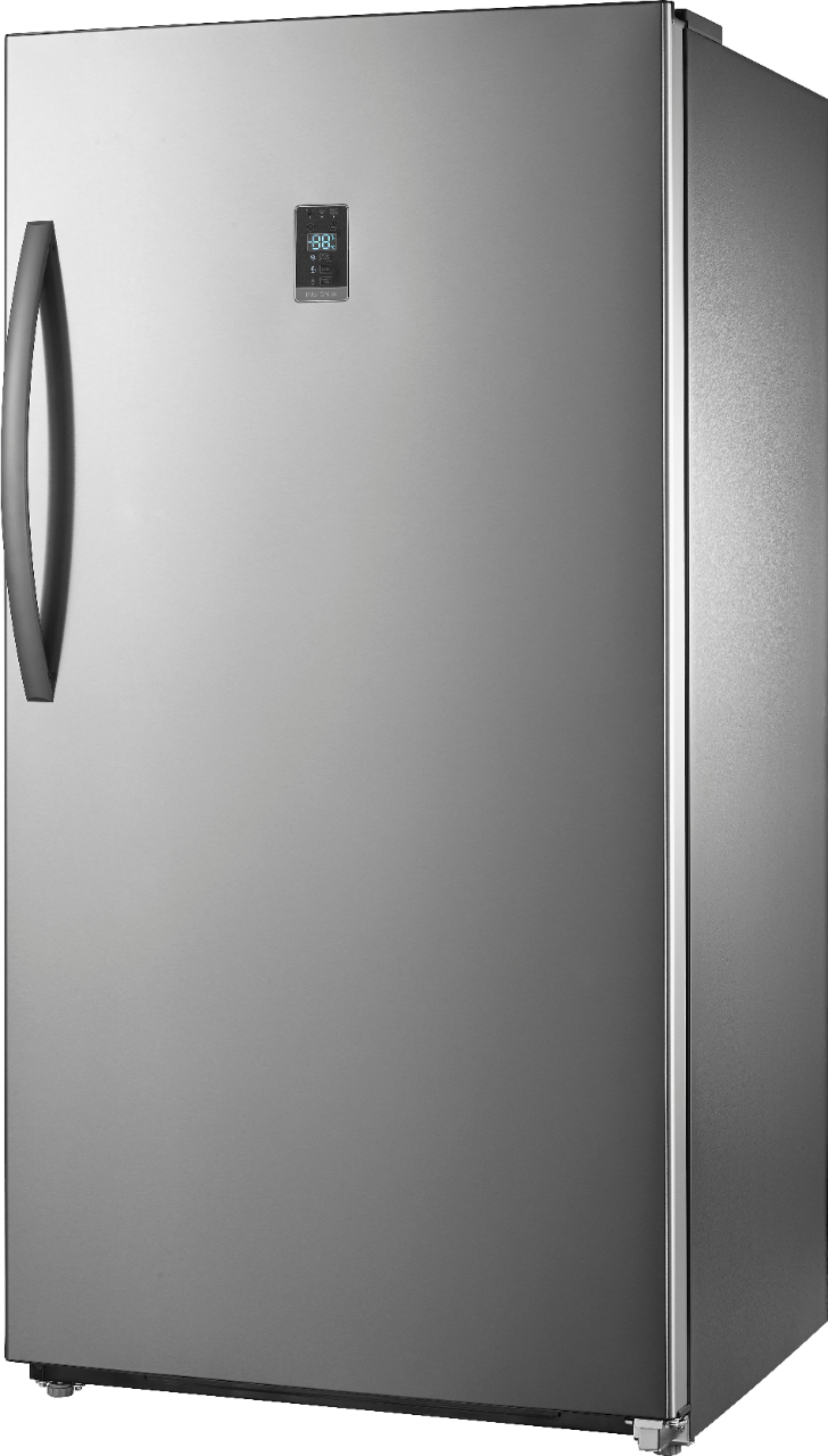 Small Stand Up Freezer Insignia 17 Cu Ft Frost Free Upright Convertible Freezer Refrigerator Stainless Steel