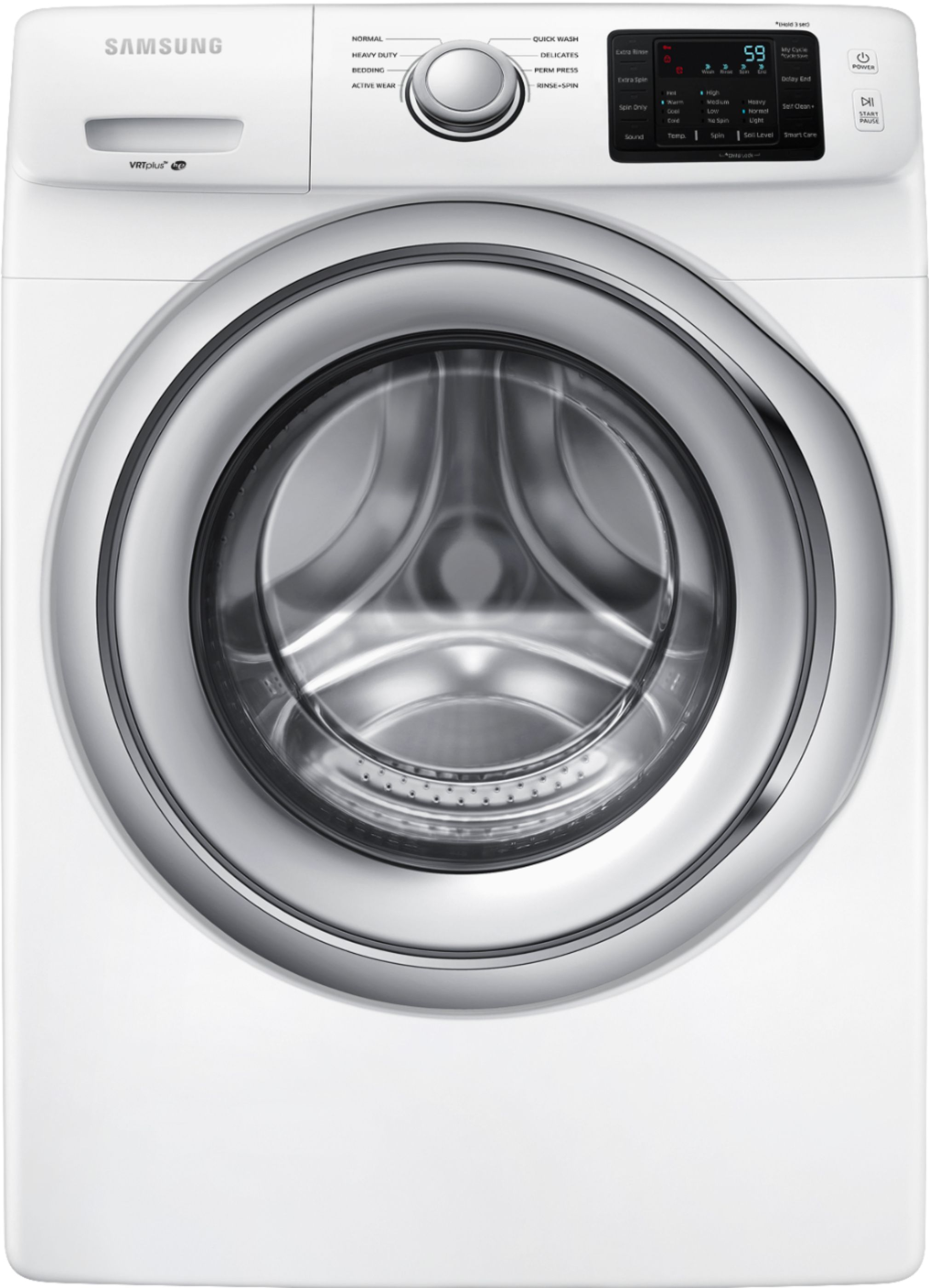 Samsung Front Load Washer Samsung 4 5 Cu Ft 8 Cycle Front Loading Washer White