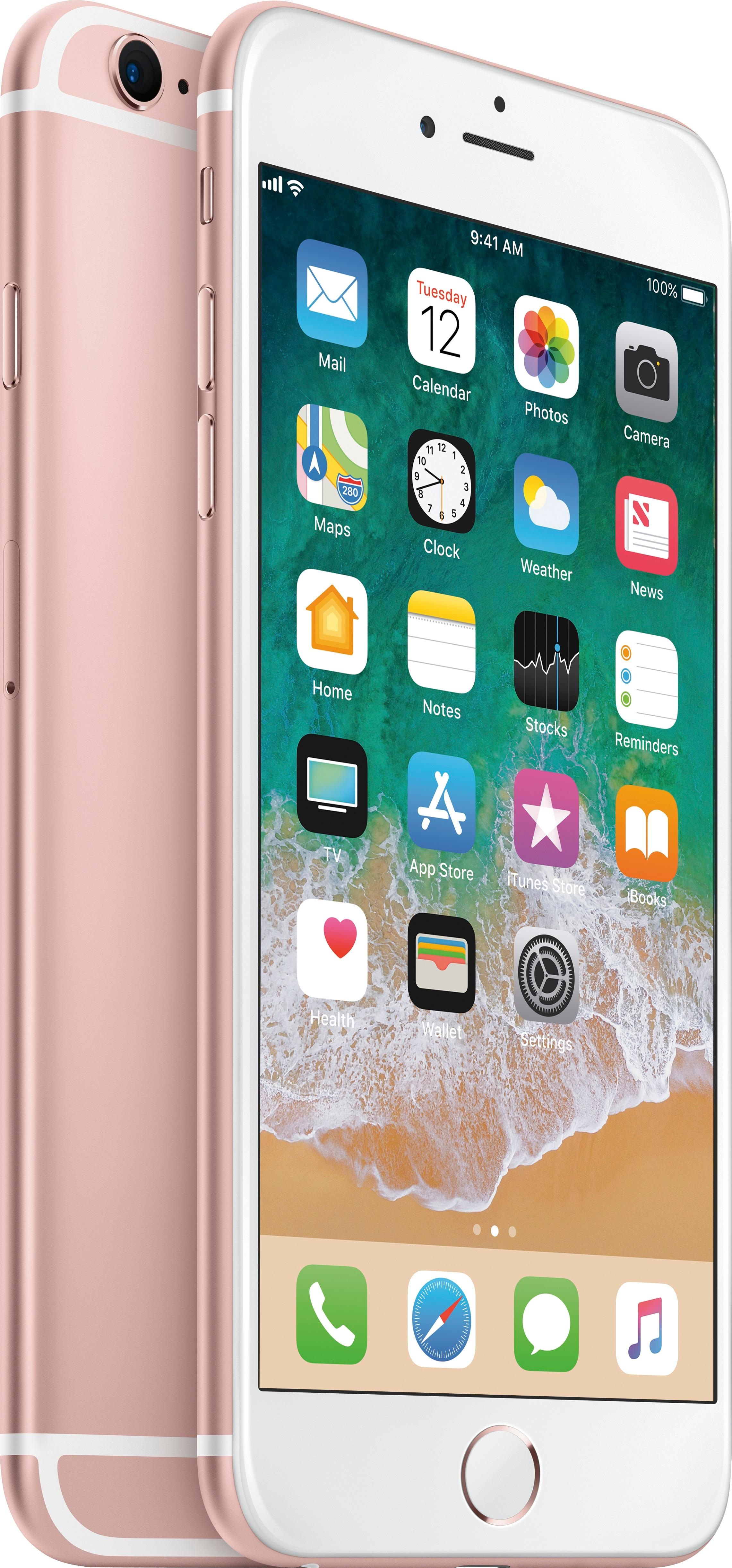 Iphone 6 Ne Kadar Total Wireless Apple Iphone 6s Plus 4g Lte With 32gb Memory Prepaid Cell Phone Rose Gold