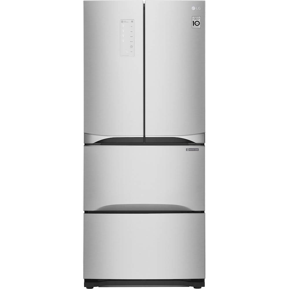 14 Cu Ft Refrigerator Lg Kimchi And Specialty Food 14 3 Cu Ft 4 Door French Door Refrigerator Platinum Silver