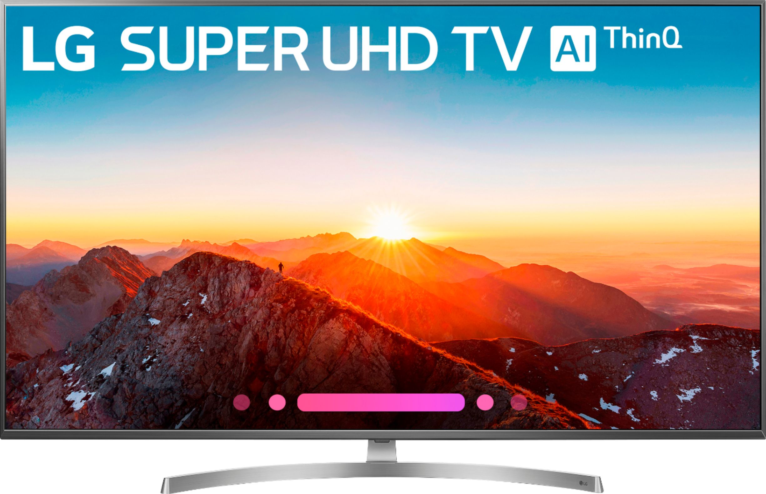 "Tv Uhd 4k Lg 55"" Class Led Sk8000 Series 2160p Smart 4k Uhd Tv With"