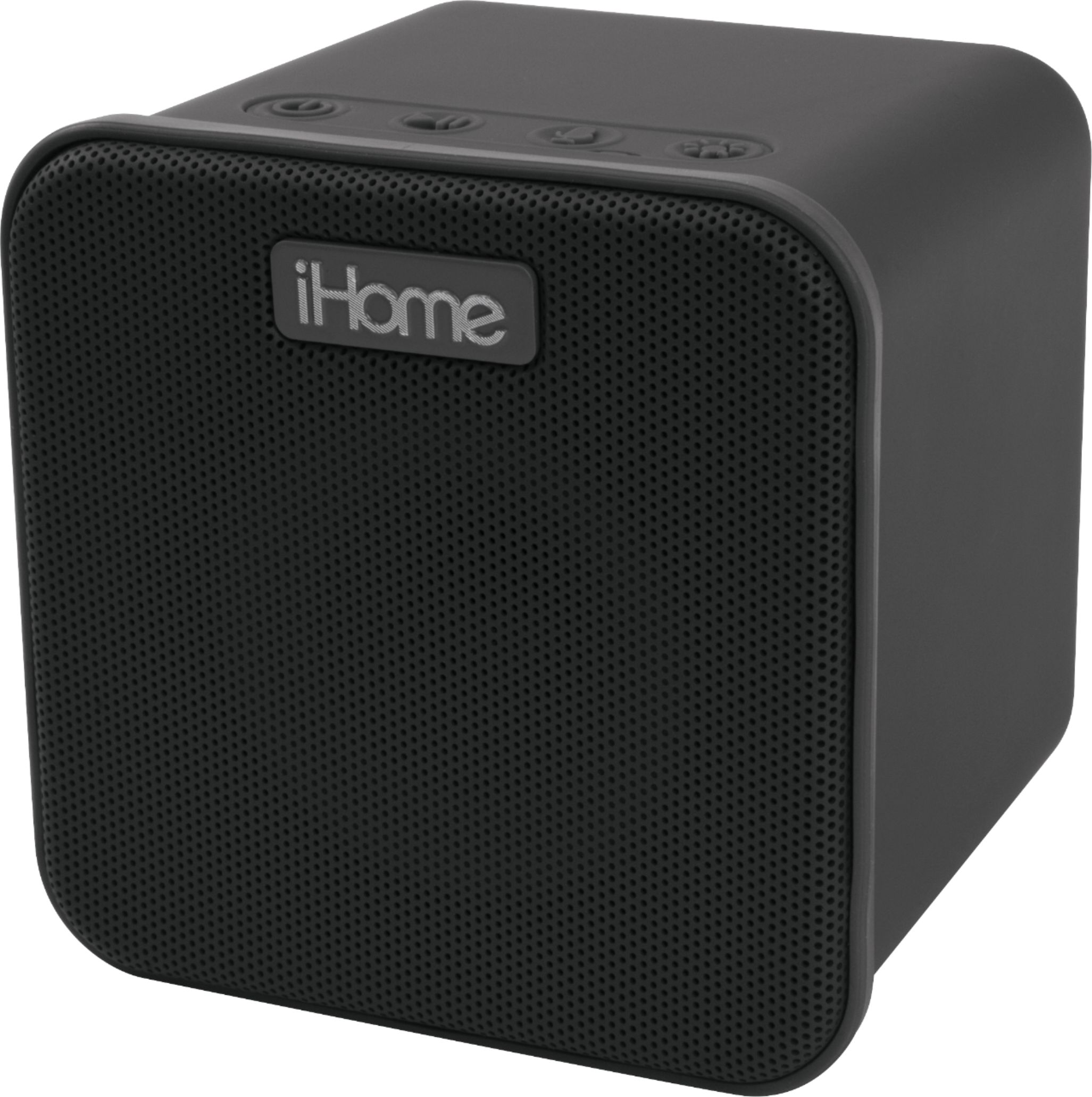 Box Bluetooth Ihome Ibt58 Portable Bluetooth Speaker With Siri Voice Assistant Black