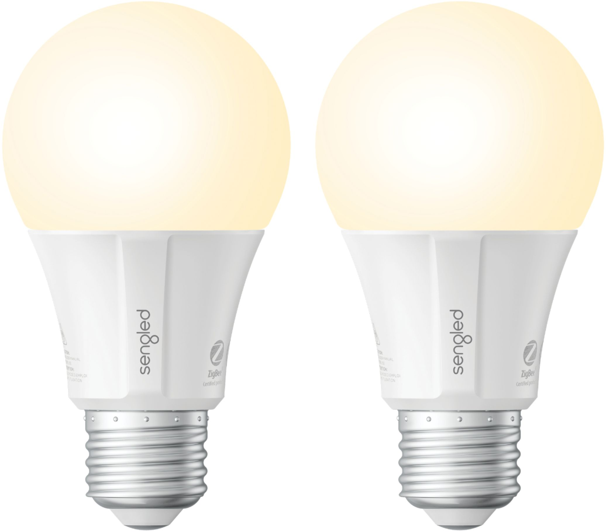 Smart Led Bulb Sengled A19 Add On Smart Led Bulb 2 Pack White Only