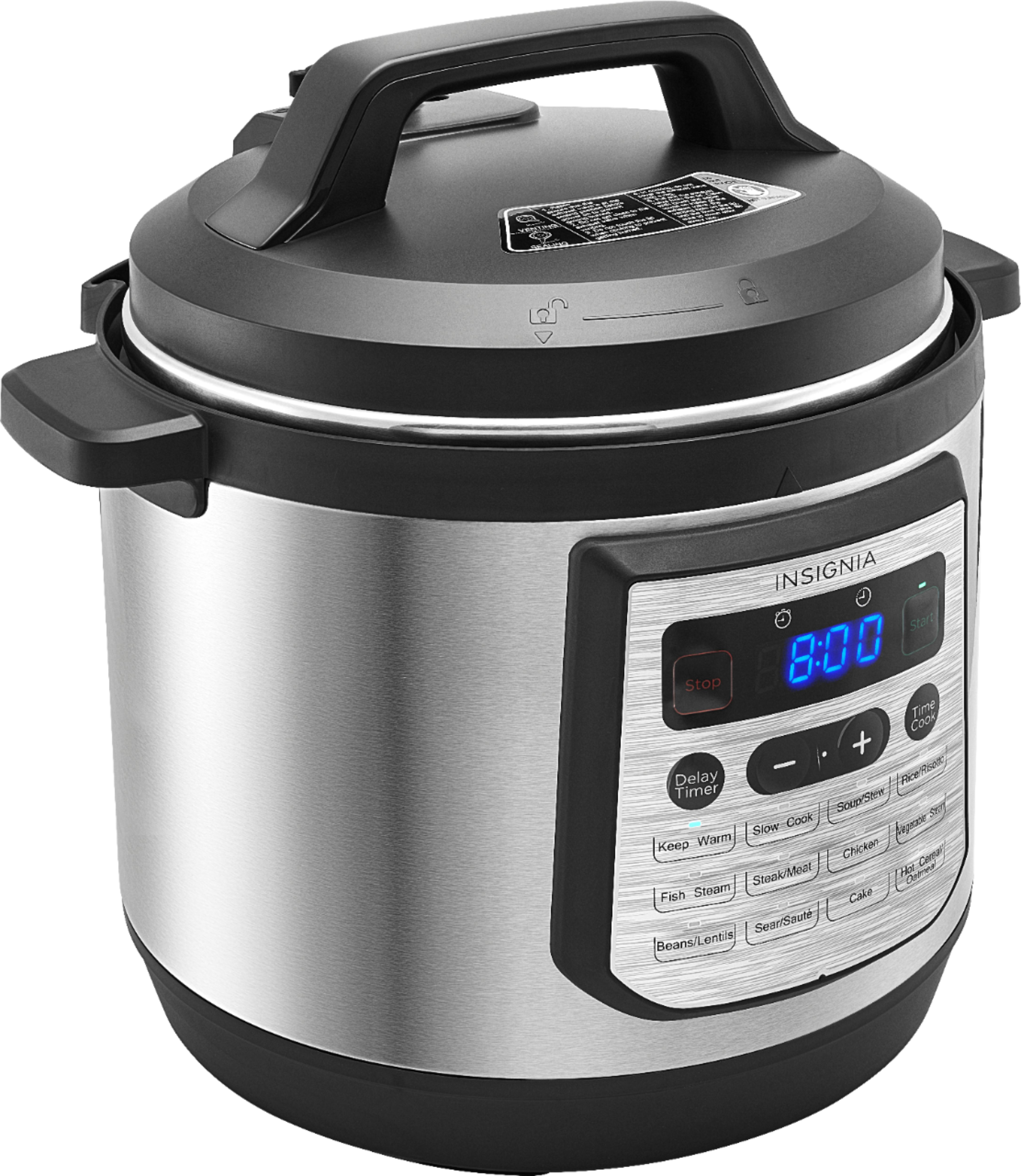Big W Pressure Cooker Insignia 8 Quart Multi Function Pressure Cooker Stainless Steel