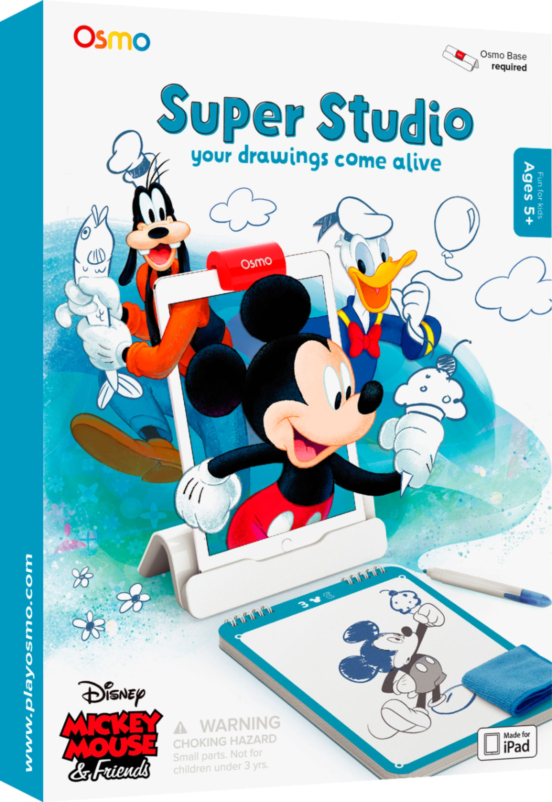 Disney Mickey Osmo Disney Mickey Mouse Friends Super Studio Game Add On