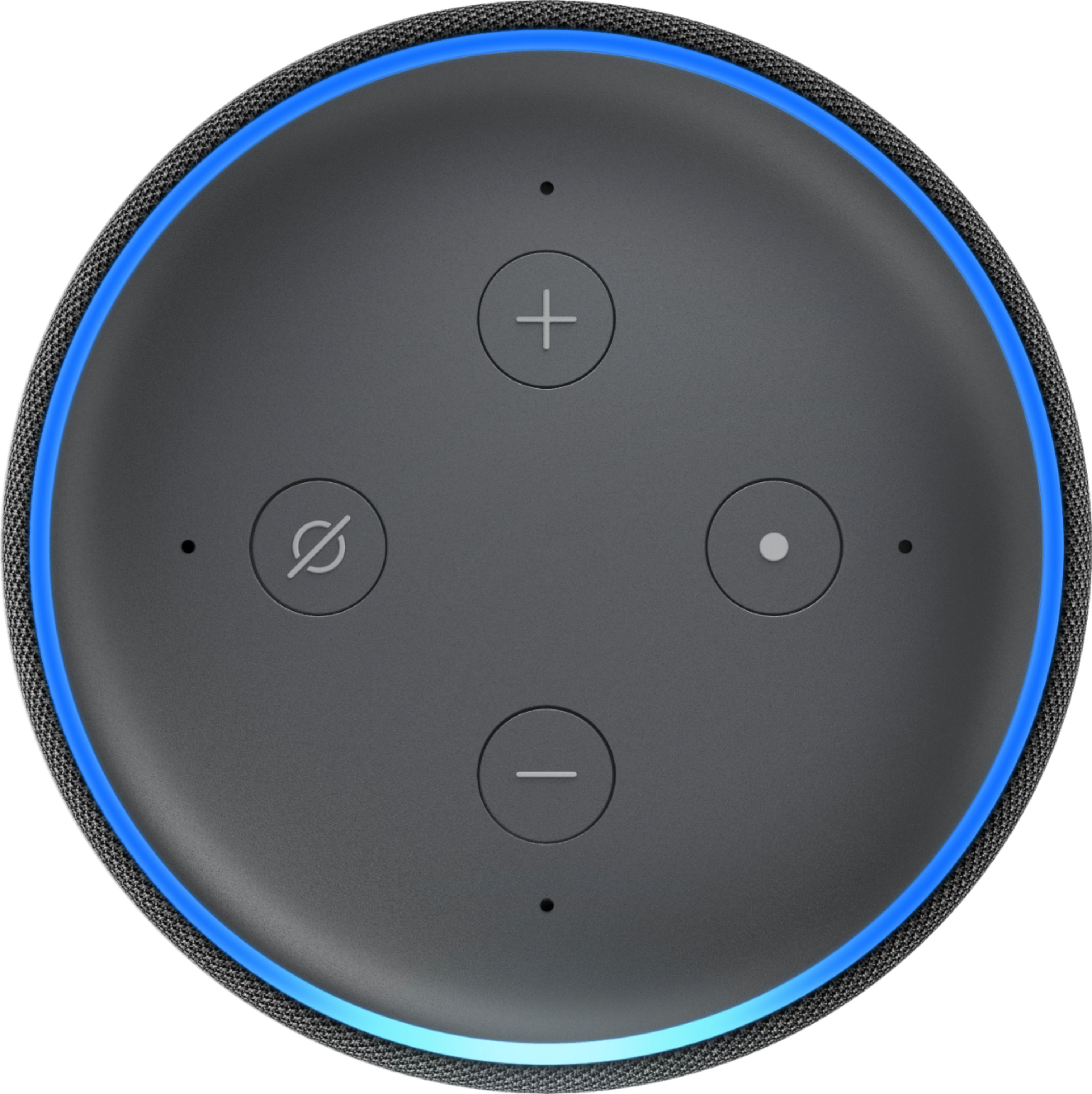 Echo Dot Installation Amazon Echo Dot 3rd Gen Charcoal