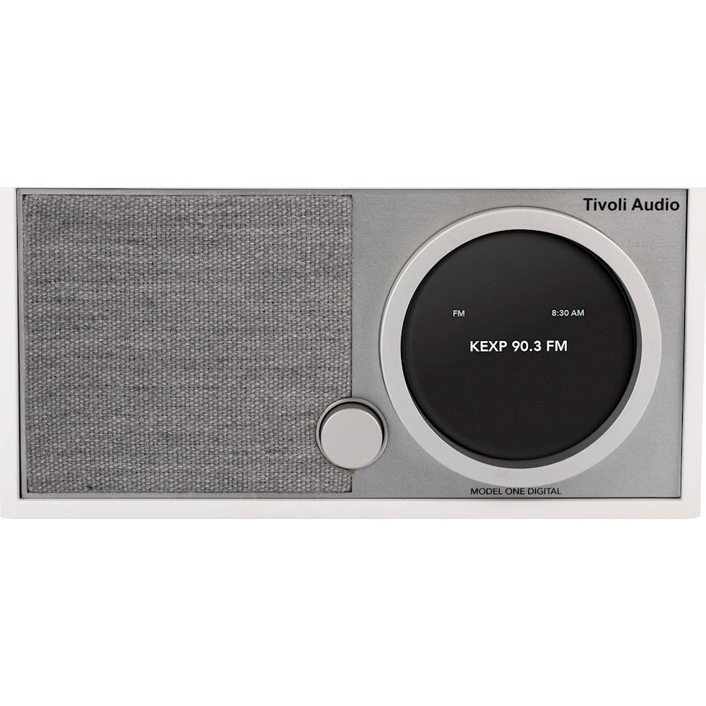Tivoli Radio Designer Tivoli Audio Model One Digital Fm Radio White
