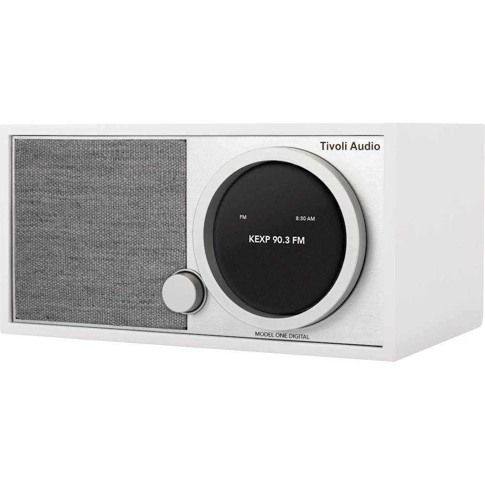 Tivoli Radio Sale Tivoli Audio Art Model One Digital Wireless Speaker With Fm Dab Radio White Gray