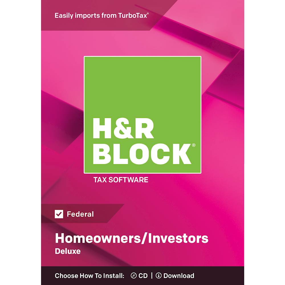 Diy Free Tax Review H R Block Deluxe Tax Software Mac