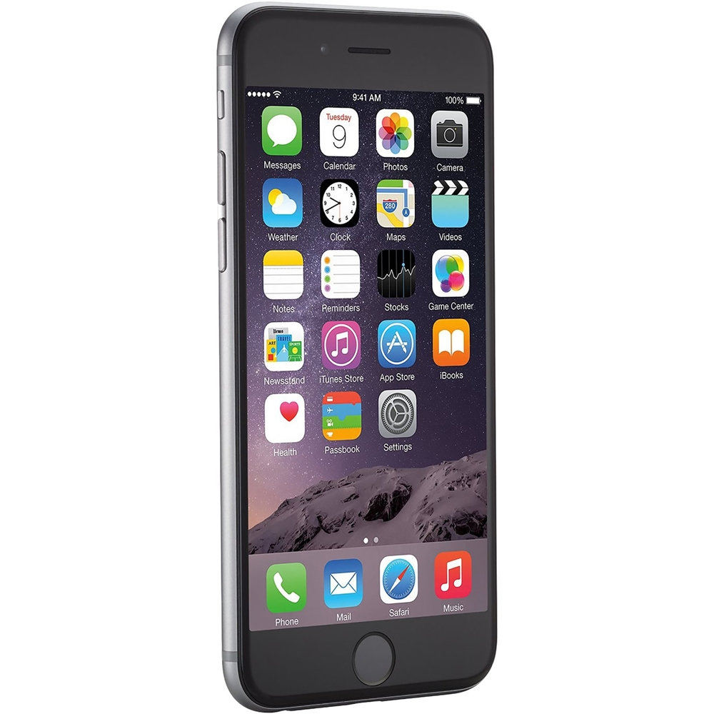 Iphone 6 32gb Apple Pre Owned Iphone 6 With 32gb Memory Cell Phone Unlocked Gray
