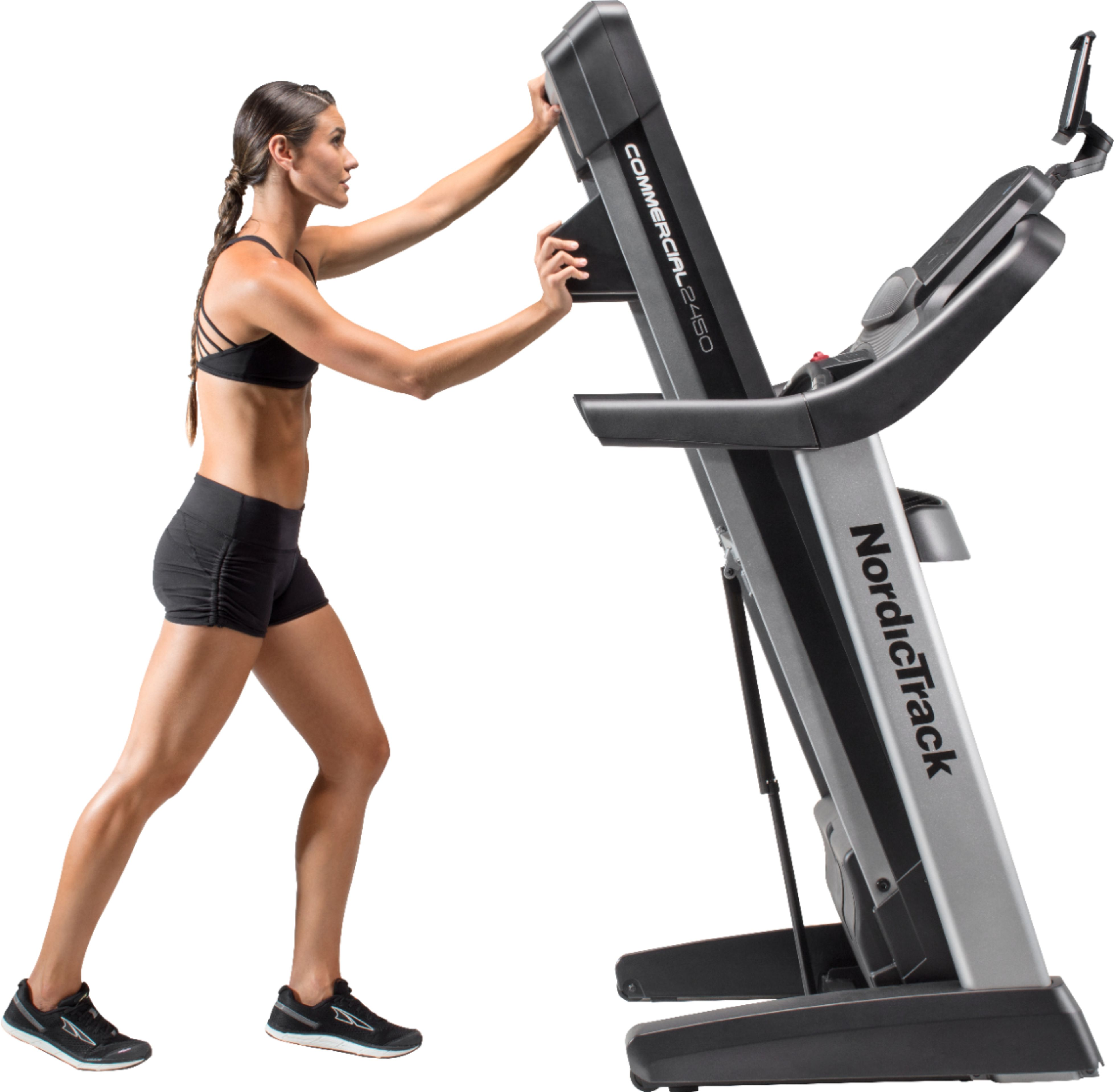 Tapis Course Nordictrack Nordictrack Commercial 2450 Treadmill Black