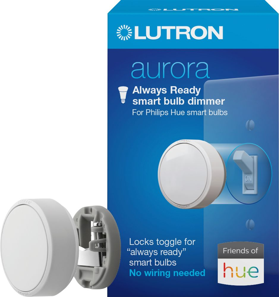 Lutron Lighting Tech Support Lutron Aurora Smart Bulb Dimmer Switch For Philips Hue