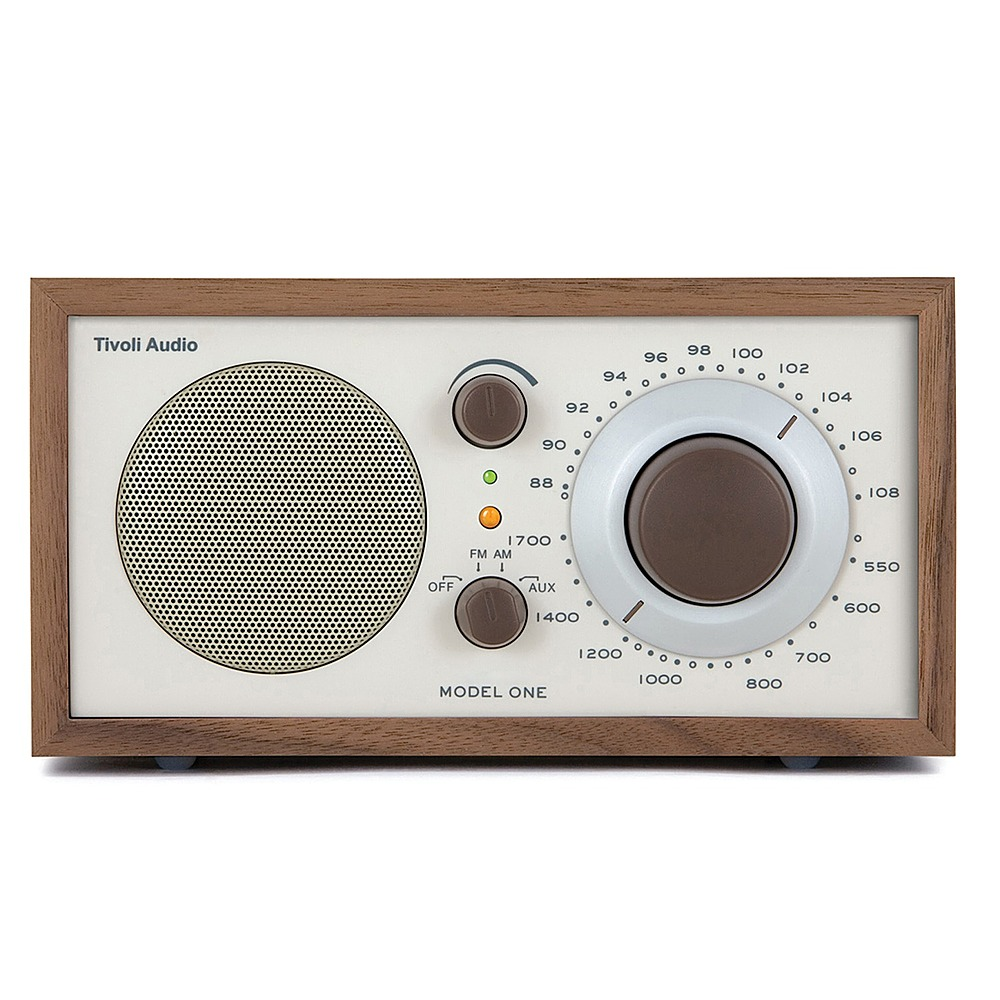 Tivoli Radio Sale Best Buy Tivoli Audio Model One Am Fm Radio Walnut Beige M1cla