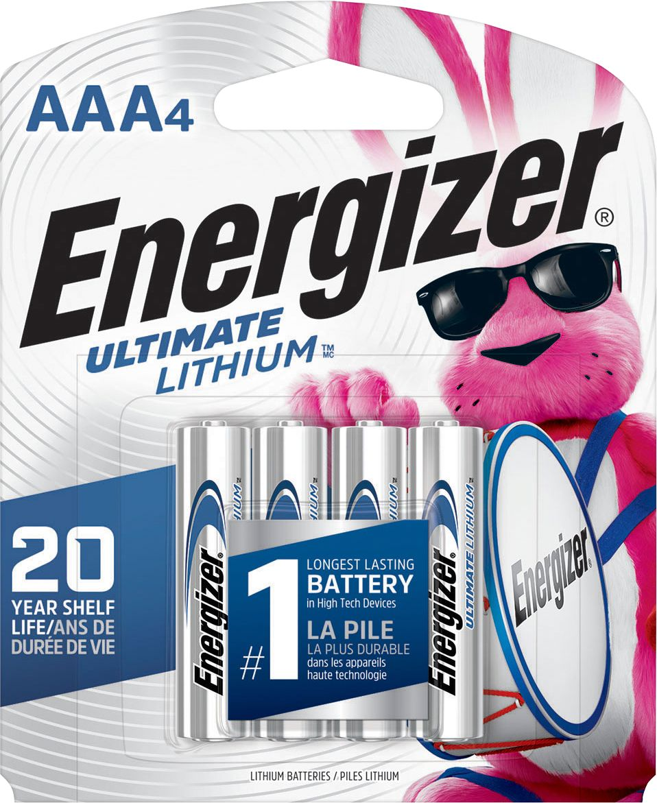 Aaa Baterien Energizer Ultimate Lithium Aaa Batteries 4 Pack