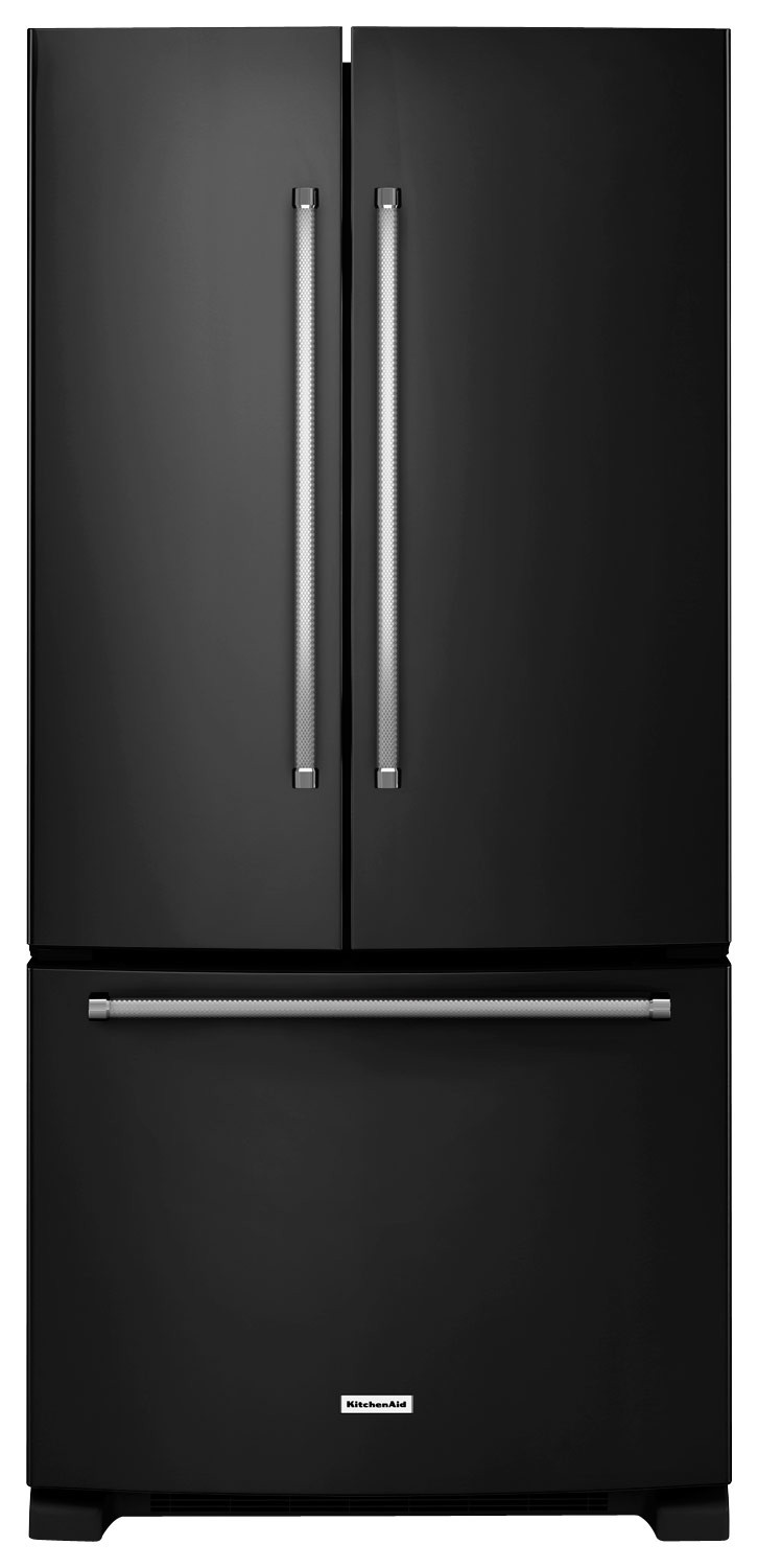 Kitchenaid Krff302ess Kitchenaid 22 1 Cu Ft French Door Refrigerator Stainless Steel