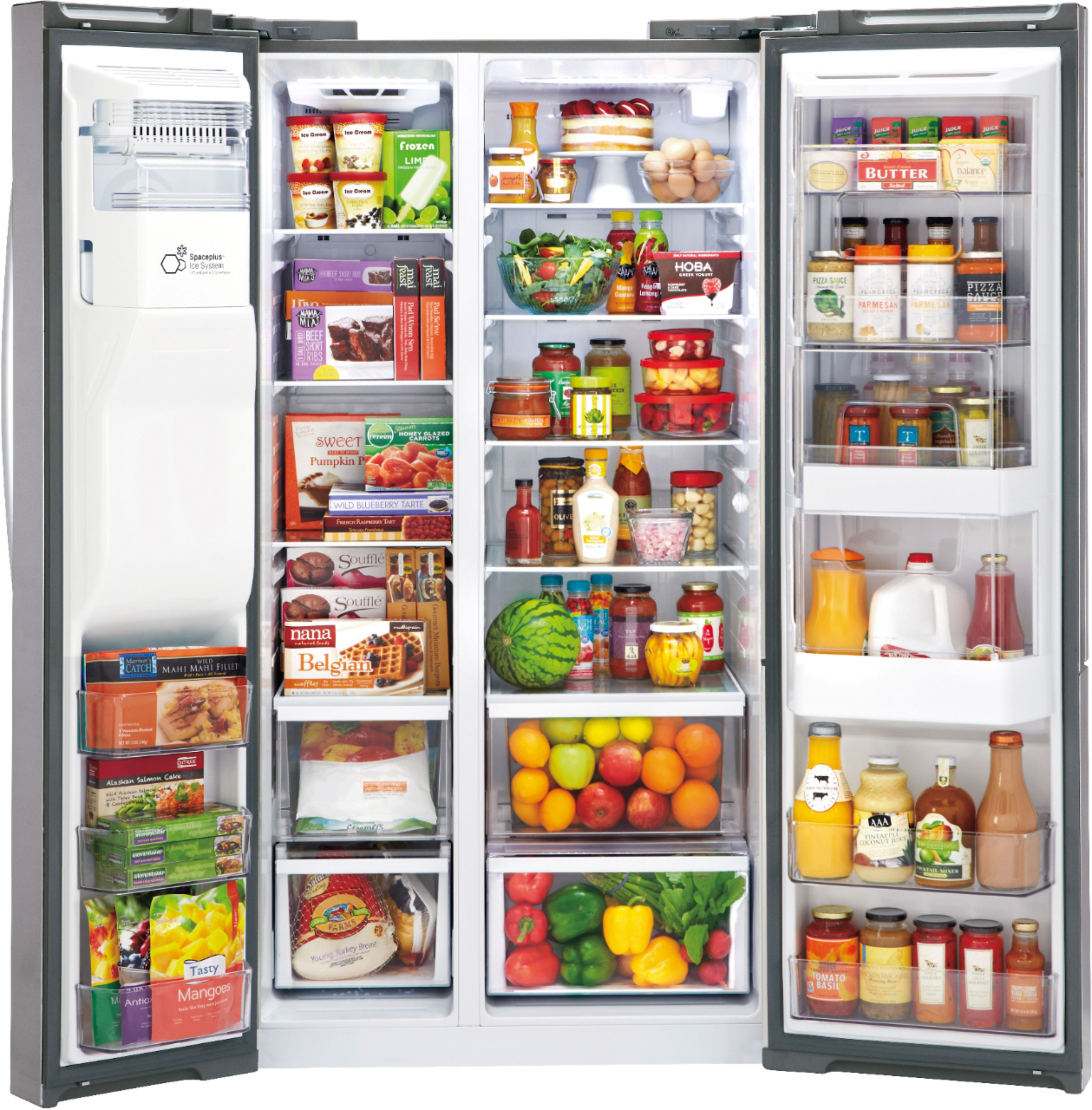 Beef Stock Kaufen Lg Door In Door 26 Cu Ft Side By Side Refrigerator With Thru The Door Ice And Water Stainless Steel