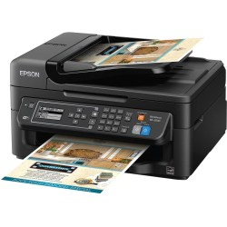 Small Crop Of Epson Printer Not Printing Black