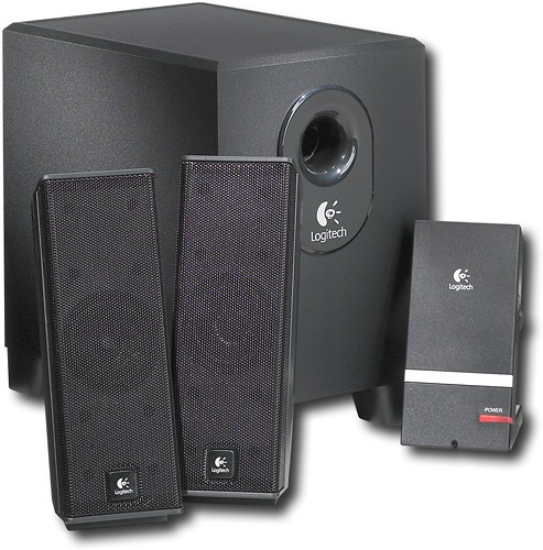 Logitech X 240 2 1 Speaker System With Mp3 Player Dock