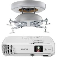 Epson Home Cinema 740HD Projector & Sanus Universal ...