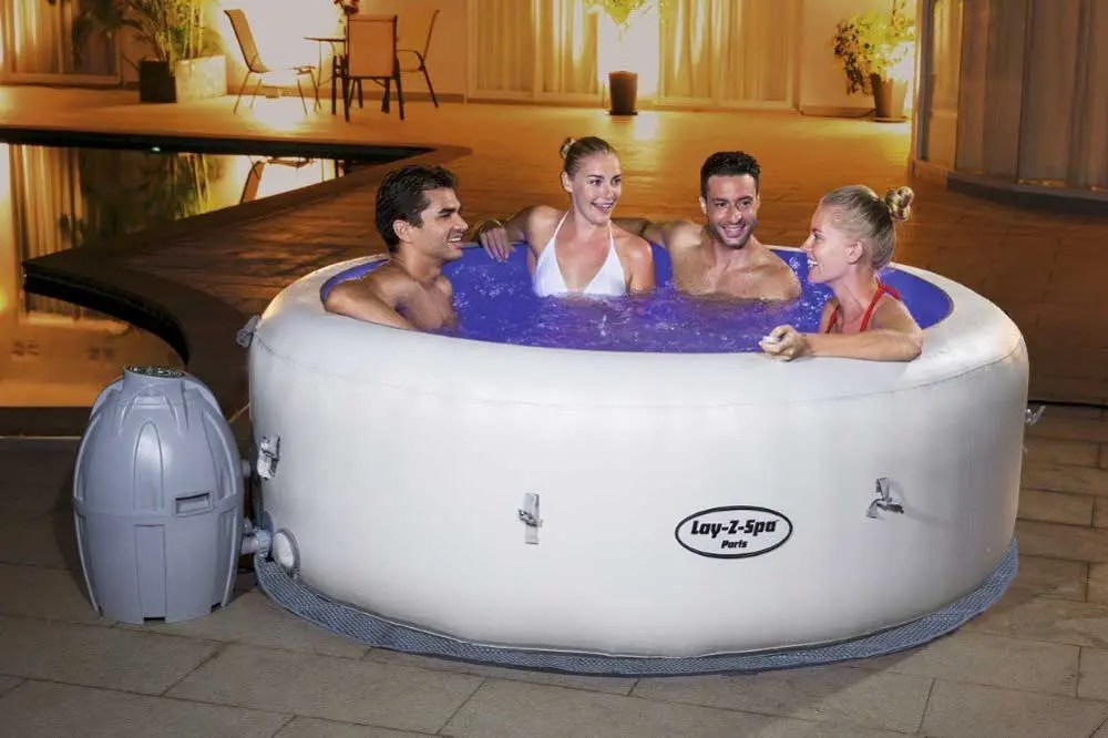 Filtro Para Piscina Hinchable Spa Hinchable Bestway Lay-z-spa Paris | Piscijardin