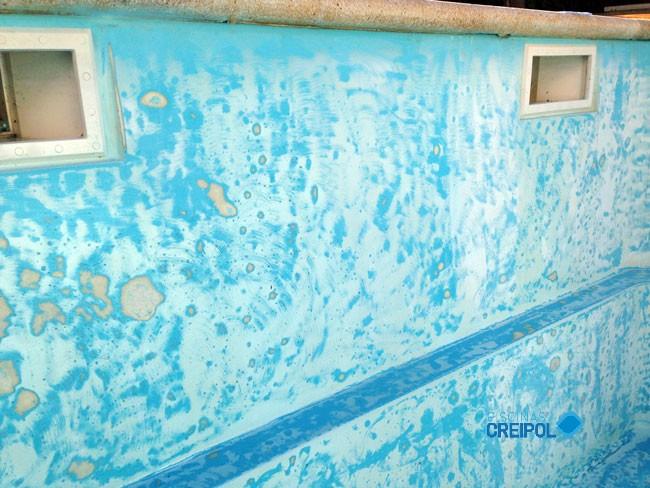 Piscina fibra rehabilitaci n piscina de fibra en sitges for Piscina sitges