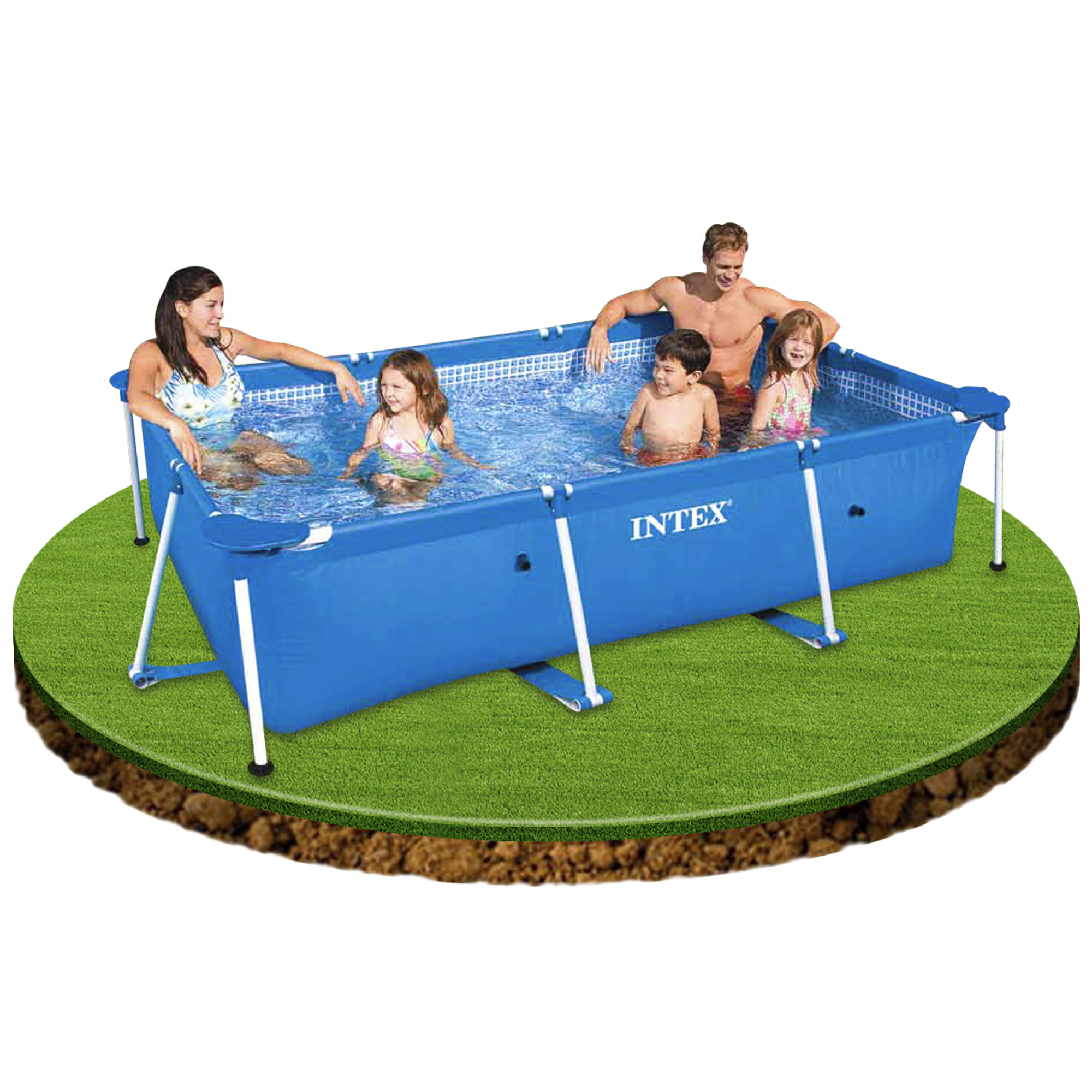 Piscinas Hinchables Precios Piscina Intex Small Rectangular Frame
