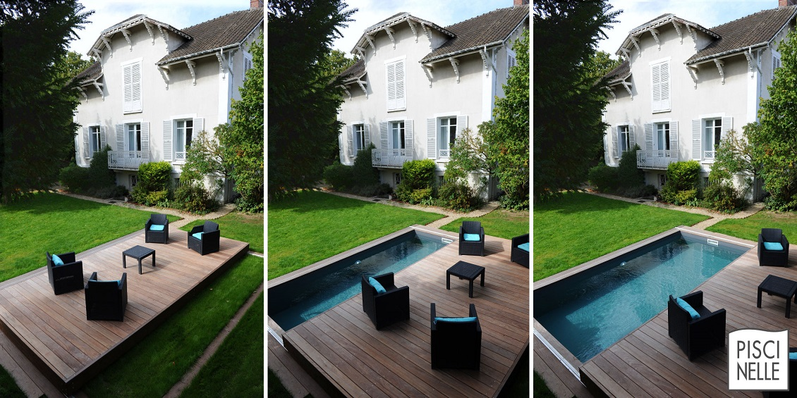 Lame Terrasse Point P Terrasse Mobile De Piscine Et Spa Rolling-deck
