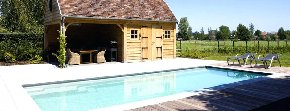 Abri De Jardin Bas Amenagement Piscine Avec Pool House