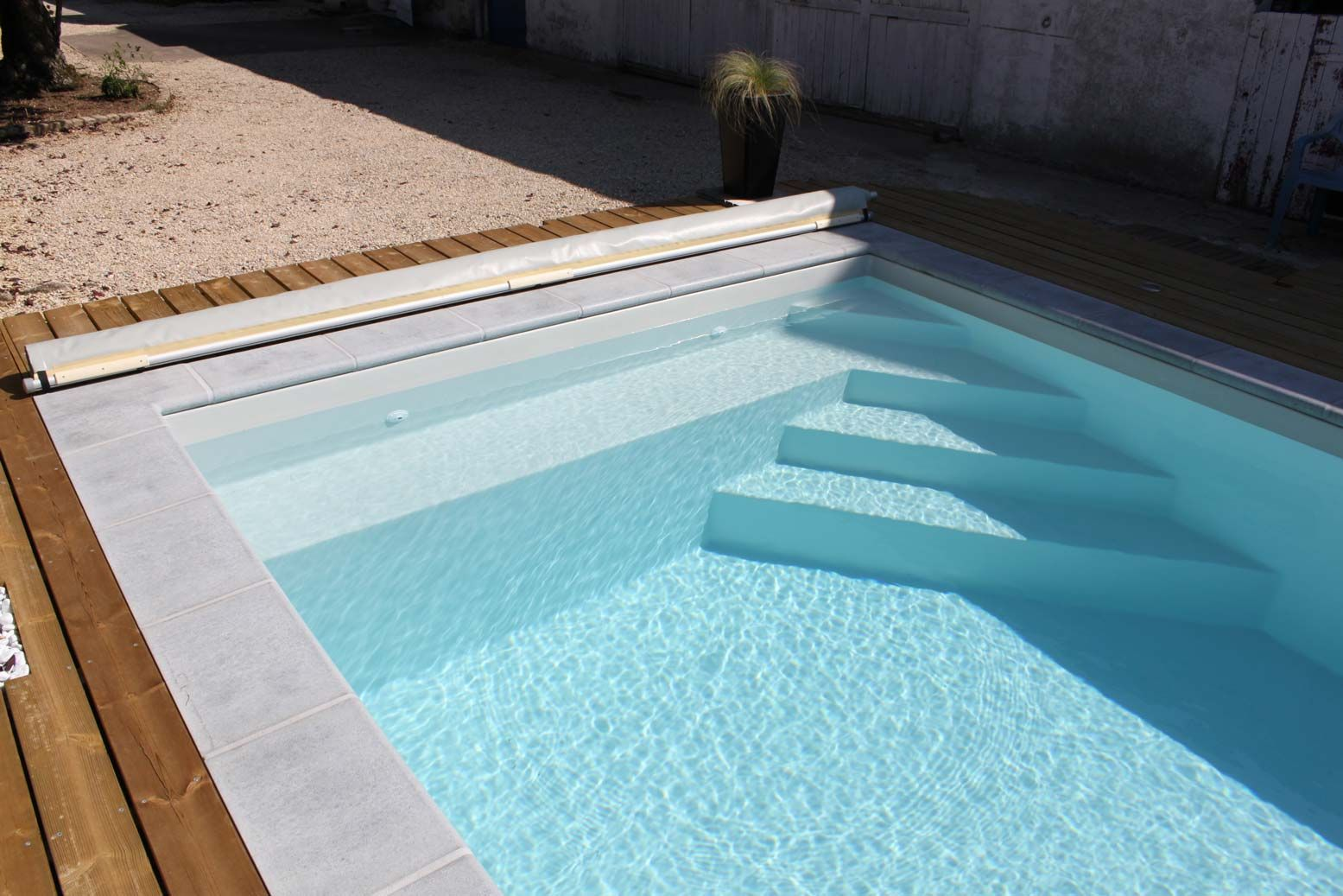 Lame De Terrasse Pvc Amenagement Piscine Escalier