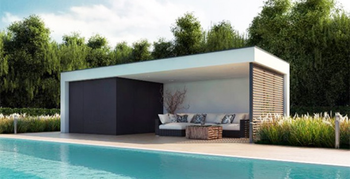 Abri De Jardin Bas Amenagement Piscine Pool House