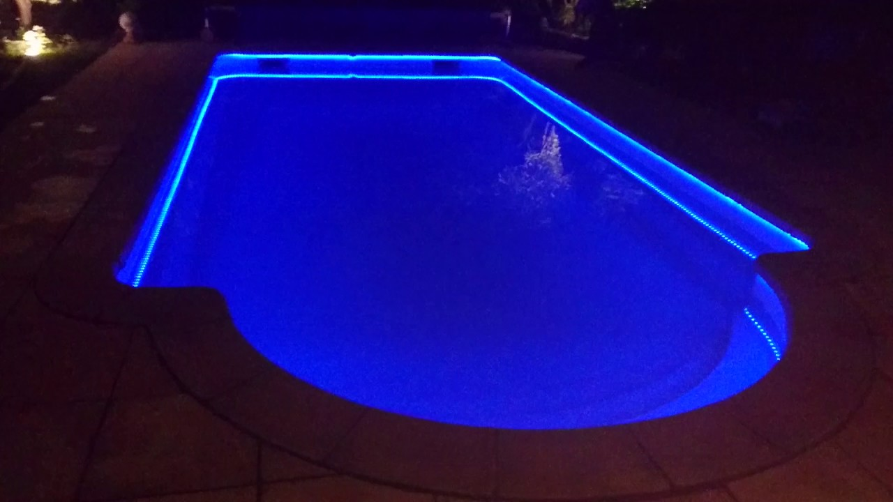 Amenagement Fontaine Terrasse Eclairage Piscine Ruban Led