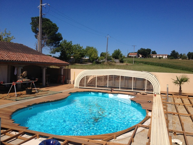 Beton Pour Terrasse Plage Piscine Forme Haricot