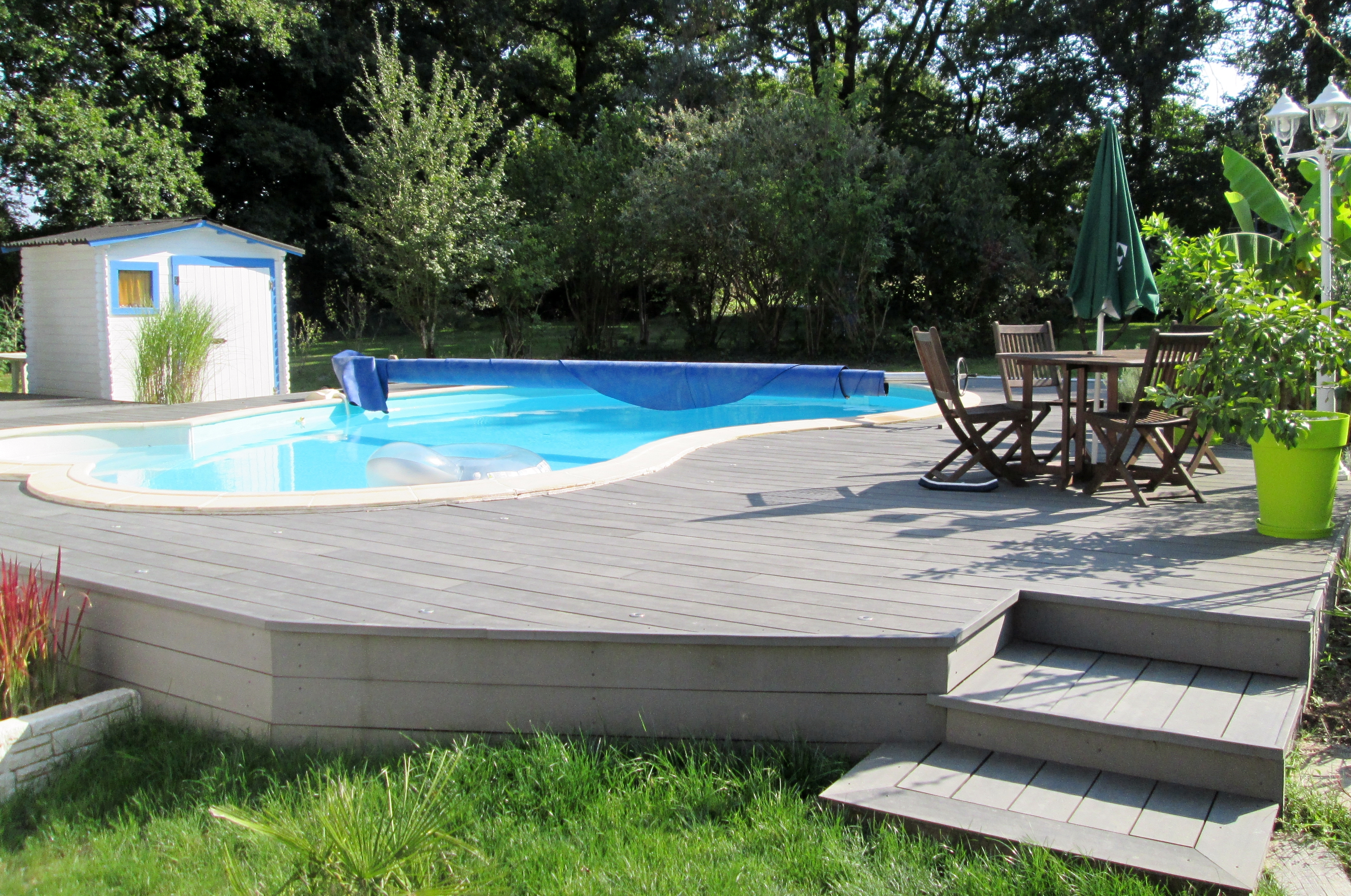 Amenagement Terrasse En Pente Amenagement Piscine Terrain En Pente Latest Meilleur Amnagement