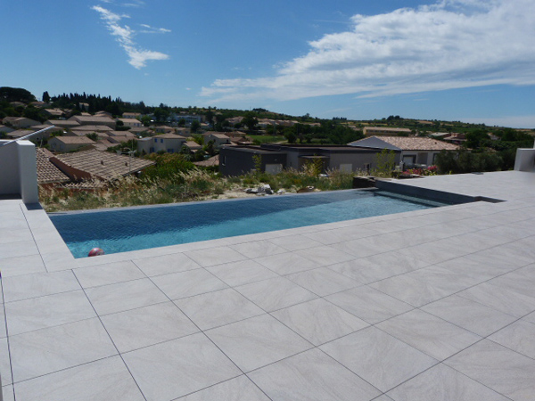 Carrelage Terrasse Point P Terrasse Piscine Dalle Sur Plot